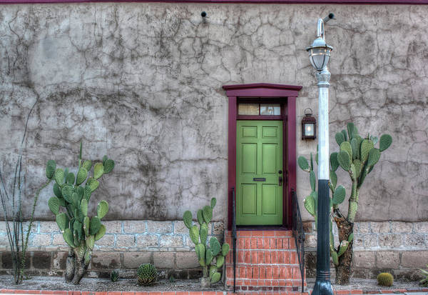 Photograph - The Green Door by Lynn Geoffroy