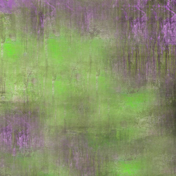 Art Print featuring the digital art The Green Fog by Mihaela Stancu
