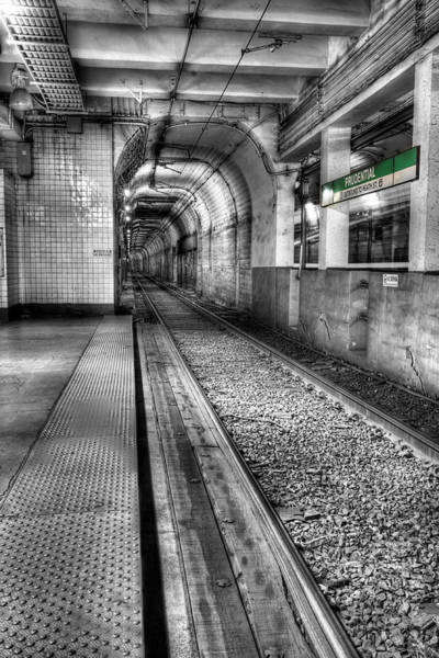 Commuter Rail Wall Art - Photograph - The Green Line by JC Findley