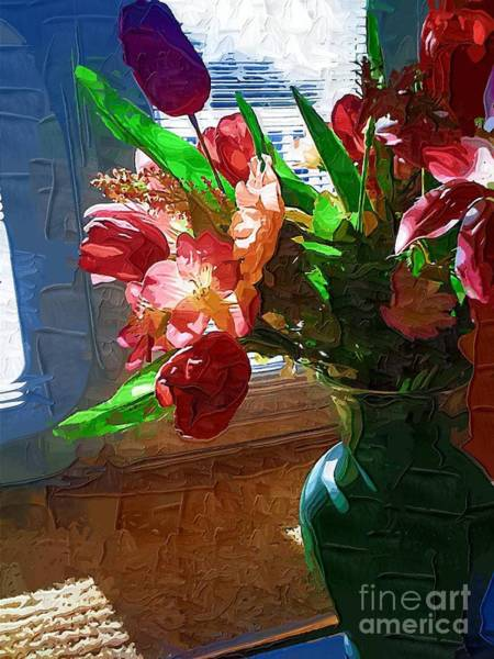 Photograph - The Green Vase  by Donna Bentley