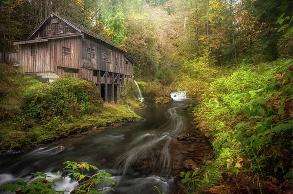 Grist Mill Photograph - The Grist Mill by Gary Randall
