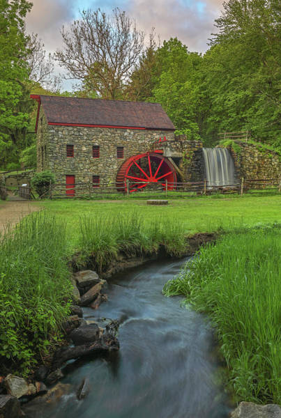 Photograph - The Grist Mill In Sudbury by Juergen Roth