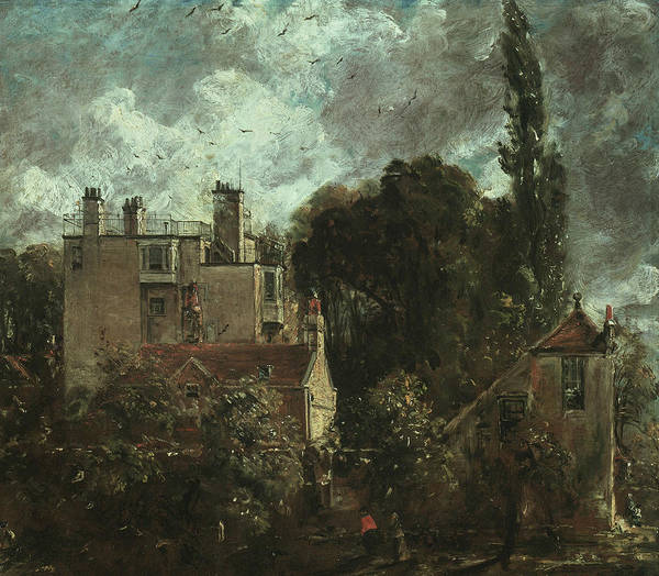 Painting - The Grove Or The Admiral's House In Hampstead by John Constable