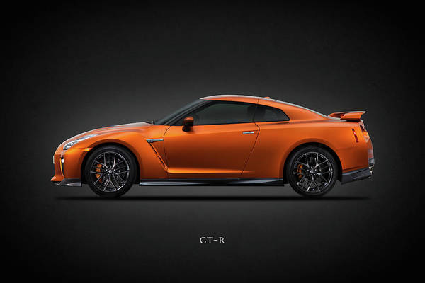 Super Cars Photograph - The Gt-r by Mark Rogan