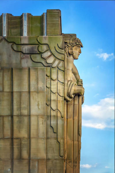 Wall Art - Photograph - The Guardian Of Traffic by Michael Demagall