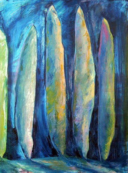 Painting - The Guardians by Julie Davis Veach