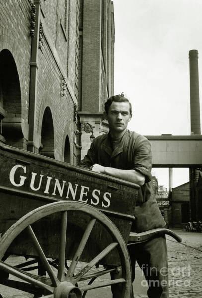 Flapper Photograph - The Guinness Man by Jon Neidert