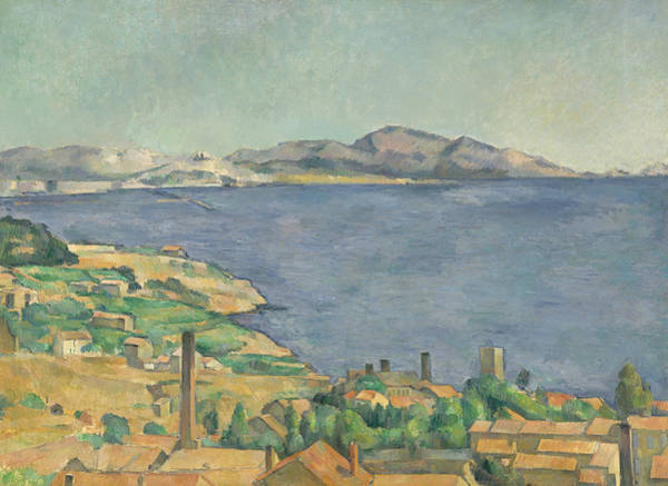 Painting - The Gulf Of Marseilles Seen From L'estaque by Paul Cezanne