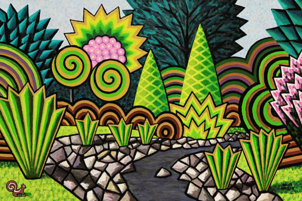 Ditch Painting - The Gully by Bruce Bodden