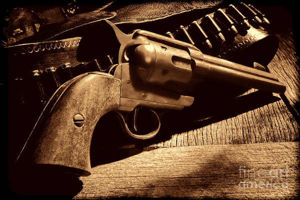 Photograph - The Gun That Won The West by American West Legend By Olivier Le Queinec