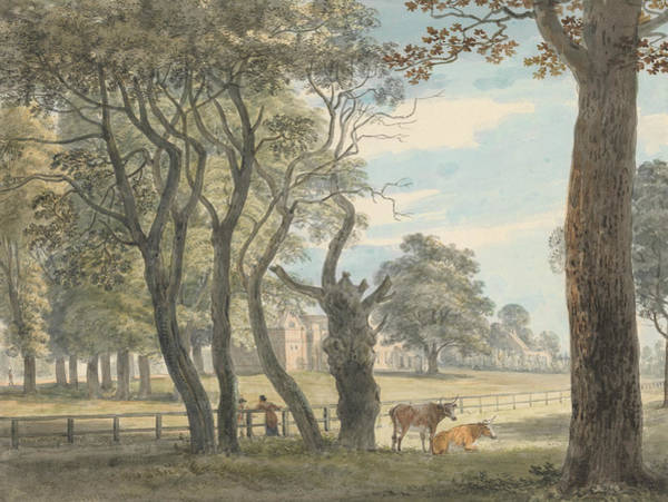 Painting - The Gunpowder Magazine, Hyde Park by Paul Sandby