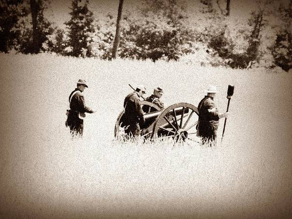 Photograph - The Guns Of Gettysburg by Bill Cannon