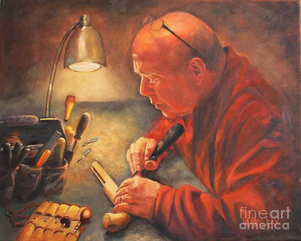 Painting - The Gunsmith by Wendy Ray