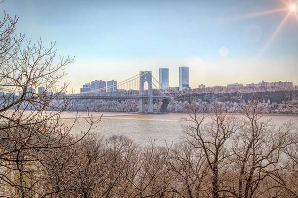 Photograph - The Gwb by Alison Frank