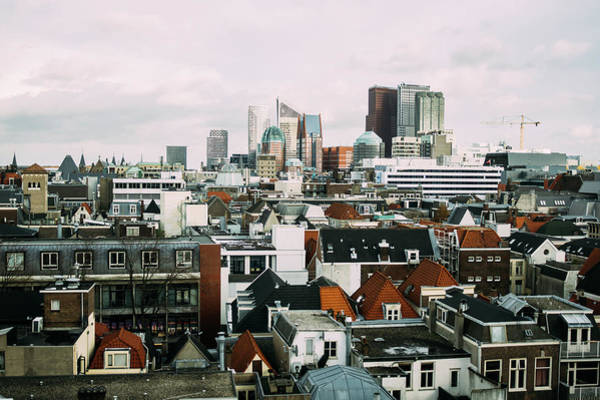 Wall Art - Photograph - The Hague Cityscape by Pati Photography