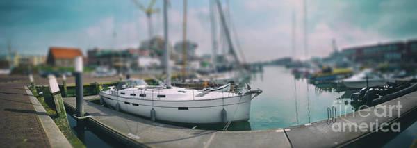Photograph - the Hague local harbor by Ariadna De Raadt