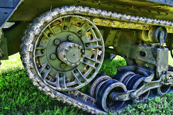 Chain Link Photograph - The Half Track by Paul Ward