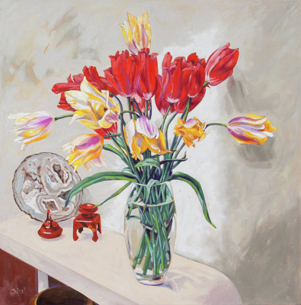 Painting - The Hall Table by Rob Owen