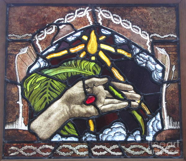Painting - The Hand Of Christ  by Celestial Images
