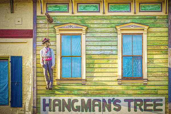 Photograph - The Happy Hanged Man by Jim Thompson