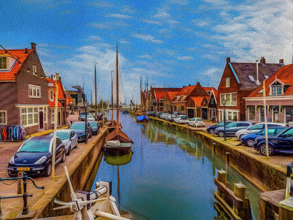 Photograph - The Harbour At Monnickendam by Paul Wear