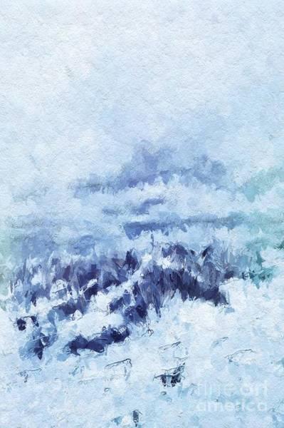 Wall Art - Digital Art - The Harsh Light Of Winter by John Edwards