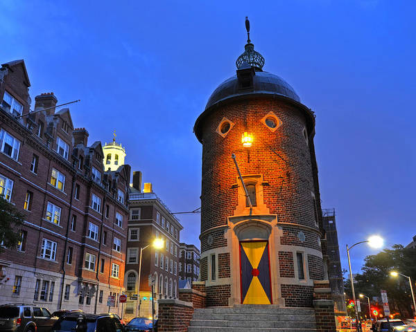 Photograph - The Harvard Lampoon Harvard Square Cambridge Ma by Toby McGuire