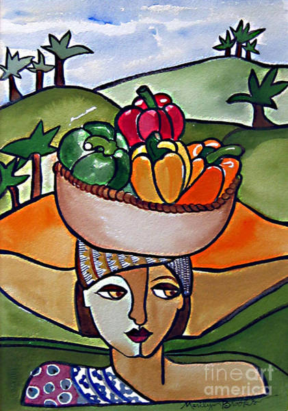 Painting - The Harvest by Marilyn Brooks