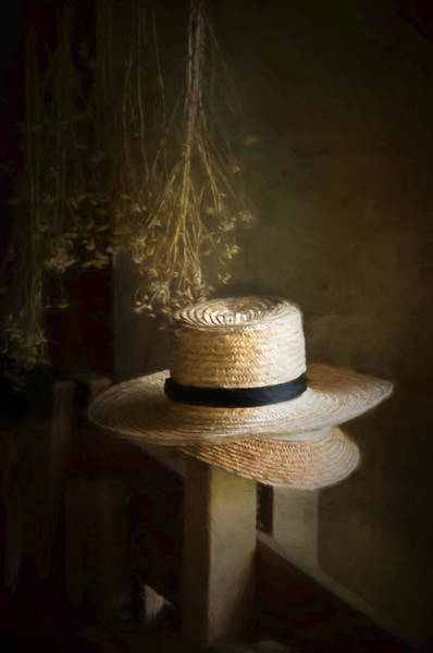 Photograph - The Harvester's Hat by Robin-Lee Vieira