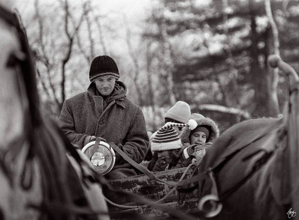 Photograph - The Hayride by Wayne King