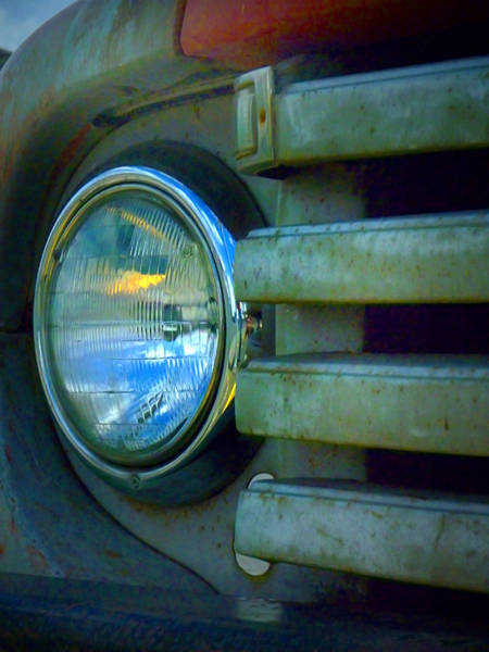 Photograph - The Headlight by Tara Turner