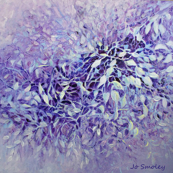Painting - The Healing Power Of Amethyst by Joanne Smoley