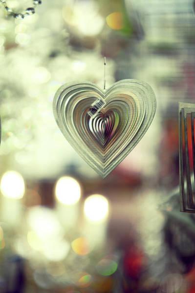 Rights-managed Wall Art - Photograph - The Heart. Boho Style by Jenny Rainbow
