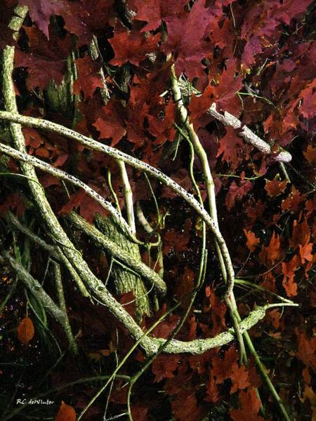 Painting - The Heart Of Fall by RC DeWinter