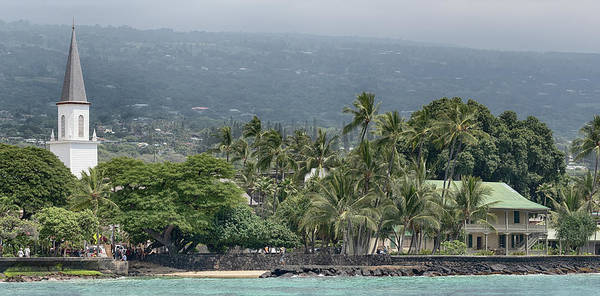Photograph - The Heart Of Kailua Kona Town by Susan Rissi Tregoning