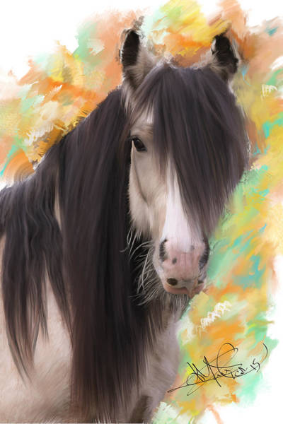 Horse Feathers Digital Art - The Heartbreaker-romeo by Donald Pavlica