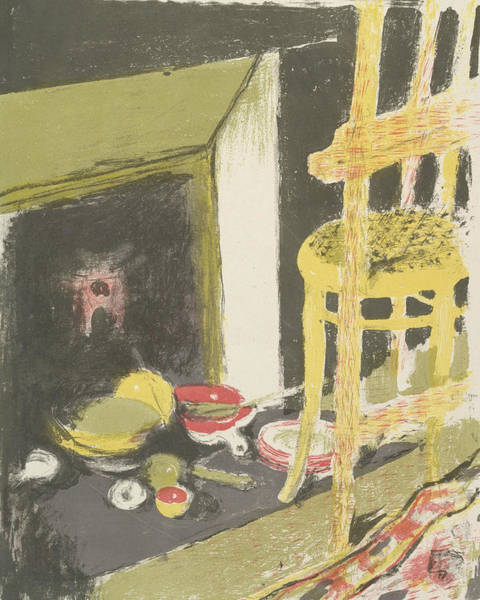 Relief - The Hearth, From The Series Landscapes And Interiors by Edouard Vuillard