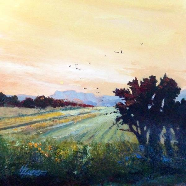 Painting - The Heartland by Helen Harris