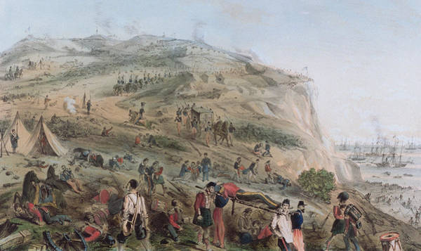 Evacuate Wall Art - Painting - The Heights Of Alma   The Day After The Battle  by Joseph-Benwell Austin