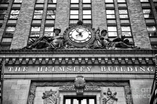 Photograph - The Helmsley Building by John Rizzuto