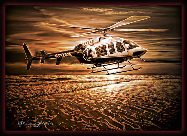 Wall Art - Photograph - The Helo by Brenda D Busskohl