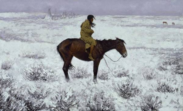Painting - The Herd Boy 1905  by Frederic Remington