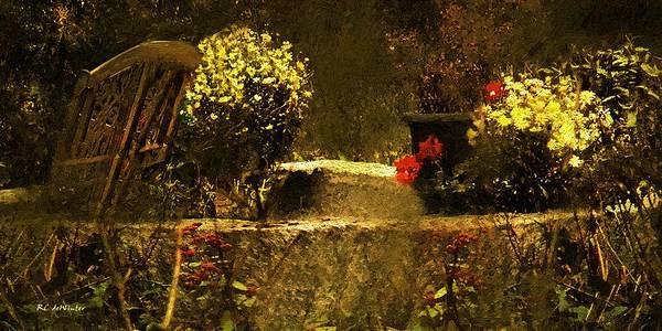 Painting - The Hidden Garden by RC DeWinter