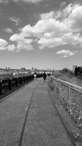 Deck Digital Art - The High Line 198 by Rob Hans