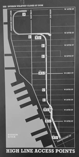 Deck Digital Art - The High Line 208 by Rob Hans