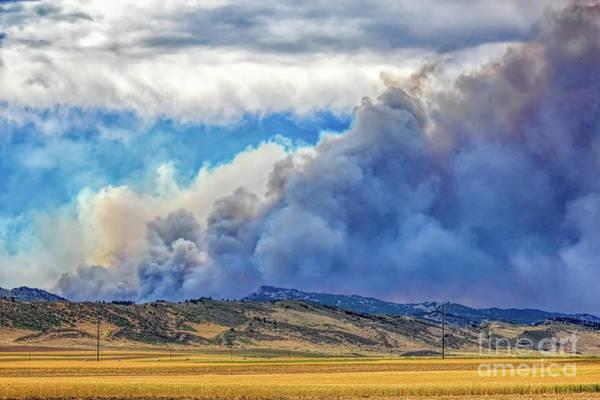 Photograph - The High Park Fire by Jon Burch Photography