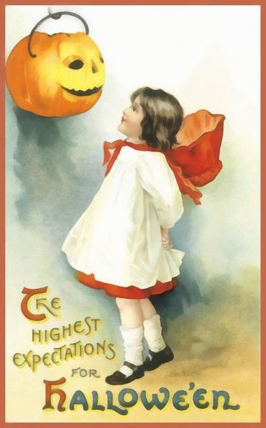 Photograph - The Highest Expectations For Halloween by Unknown