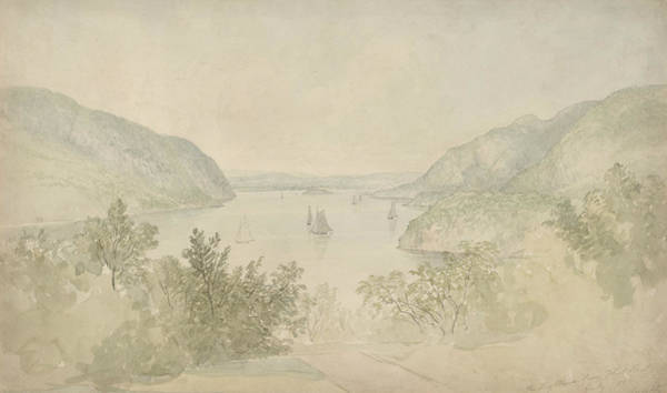 West Highland Painting - The Highlands From West Point by Thomas Doughty