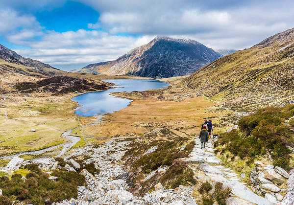 Photograph - The Hike Back Down by Nick Bywater