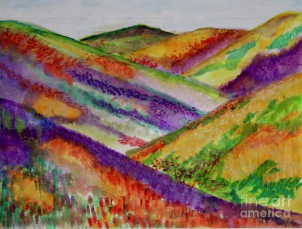 Painting - The Hills Are Alive by Kim Nelson